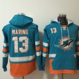 Miami Dolphins #13 Marino Green Hoodie
