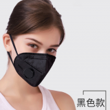 RTS KN95 Disposable non-woven face mask dustproof and breathable Industrial Dust Haze formaldehyde active carbon nose mask