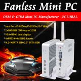 Eglobal Fanless Computer Freeshipping Mini PC Intel Core i3 7100U UHD Graphics 620 Support max 16GB Memory Office Computer