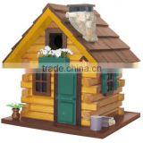 Custom small wooden bird house, blue bird houses decorative                                                                         Quality Choice