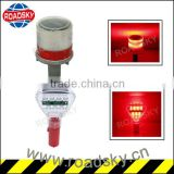 Road Barricade Traffic Safety Solar Warning Light Product For Road