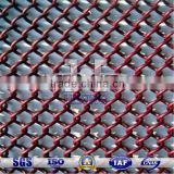 Decorative Coated Metal Wire Mesh Coil Drapery