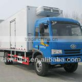 FAW refrigerated trucks for sale 4x2 dubai truck refrigerated truck
