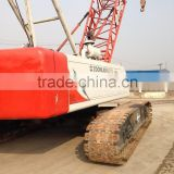 Strong working resonable price used good condition Crawler crane zoomlion70t for cheap sale in shanghai