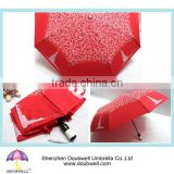 8 Ribs Lady Foldable Umbrella With straight handle for made in China umbrellas