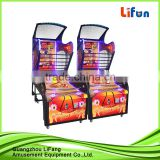 Best electronic basketball arcade game machine/new amusement exercise basketball simulator game