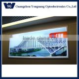 Building outdoor advertising clip frame billboard, outdoor wall hanging aluminium banner frame