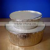 china suppliers zhuozhou smoothwall disposable aluminum foil container / tray /lunch box for food