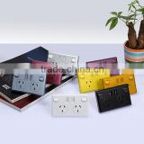 SAA approved AU australian wholesale price usb power socket au/nzs standard wall switches electrical material