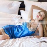 Noya Customized ZM 9039 Women Skirt Pajamas with Lacework