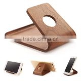 wood stand for phone, Wooden Mobile Cell Phone Holder