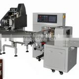 Shanghai manufacture Automatic feeding pencil pillow packing machine with Servo Motor YQ-250XB