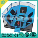 Commercial Trampoline Manufacturer kids and adult outdoor and indoor trampoline park