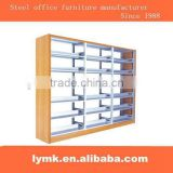 Steel wrought iron bookshelves used for library, school etc