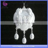 2013 NEW POPULAR DESIGN BEST GIFT FOR NEWBORN BABY SILVER LOCK AND KEY PENDANT NECKLACE &Y00008D