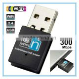 Mini USB Wireless Realtek8192 WiFi Adapter Wi-Fi Dongle High Gain 300Mbps 300M USB Wireless Network Card