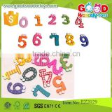 high quality educational wooden magnetic white board standard size magnetic number sets- EZ2029