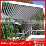 aluminum electric louver roof