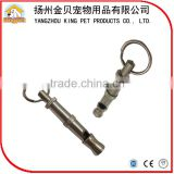 China factory wholesale custom metal puppy dog whistle for training