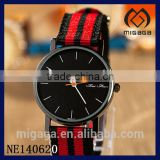 brand new fashion canvas fabric strap watch for German team*Football canvas German team watch