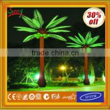 Alibaba express Outdoor Christmas Decorative LED coconut palm tree light with CE ROHS GS SAA UL