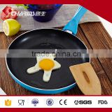 induction aluminum non-stick frying pan with glass lid kitchenware