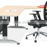 hot sale Luxury concise L-shaped office manager table