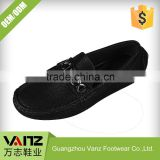 OEM ODM Production Rubbing-free PU Leather Flat Sole Men Designer Loafer Shoes Casual Shoes