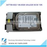 New Arrival! Server Hard Disk 347708-B22 for HP, 146.8GB Pluggable Ultra320 SCSI 15K Hard Drive