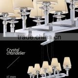 Concise indoor pendant lamp with lampshade/fiber optic chandelier                                                                         Quality Choice