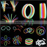 party favor flashing bracelet Multi color hot glow stick bracelet                                                                         Quality Choice