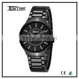 2016 new arrival fashion ceramic mens black watch alibaba express wholesale watch with great dial brand watches men