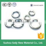 Spring lock Washer Stainless Steel Spring Washer Double Coil Spring Washer                                                                         Quality Choice