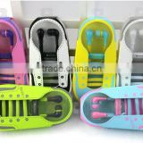 Hot shoelace earpiece silicone earphone rubber cover