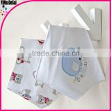 embroidery,cute pinafore,soft baby bib