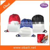 Cheap drawstring gym bag/shoe bag