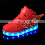 Angel Wings LED Light Up Shoes for Kids