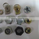 China fastener supplier nuts and bolts making machines with high strength zinc plated manufacturers