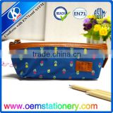 Hot selling kid's pencil bags cool zipper pencil case with compartment for teenagers