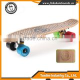 High Quality Skateboard Deck 22 inch Blank wholesale bamboo skateboard decks