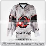 2016 wholesale custom ice hockey jersey high quality breathable ice hockey jersey for team