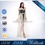 Factory Wholesale Black Sequins Dress Sweetheart Ladies Short Prom Dresses Guangzhou