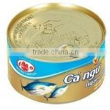 Vietnam Canned Tuna in Oil Canned Fish