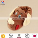 2016 warm color soft baby animal slippers