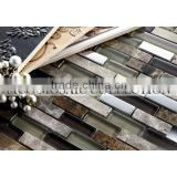 GZ3362SD porcelain mosaic tiles for swimming pool old ship mosaic wooden wooden wall tile