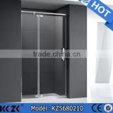 stainless steel frame tempered glass square sliding shower enclosure                                                                                                         Supplier's Choice