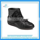 men's black ankle boots PU upper , high quality ankle boots for man, hot slae good price PU ankle boots