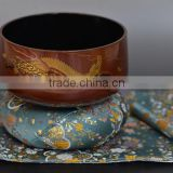 Beautiful and High quality brass handicraft Dragon Makie Lacquer Orin Pure Gold Made in Japan for interior decor