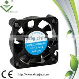 Xinyujie ball bearing 4010 laptop cooler built-in low rpm fan motor high quality cpu cooler
