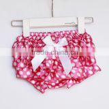 baby ruffler satin bloomers cute birthday baby shorts